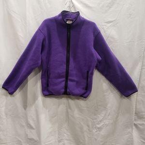 REI Purple Fleece Sweater